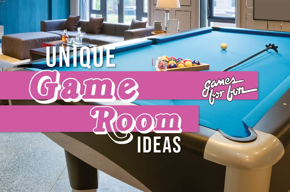 The Most Unique Game Room Ideas That You Can Add Into Your Game Room Games For Fun